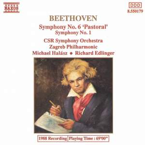 Beethoven: Symphonies Nos. 6 and 1 Product Image