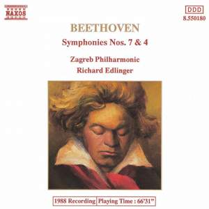 Beethoven: Symphonies Nos. 7 and 4