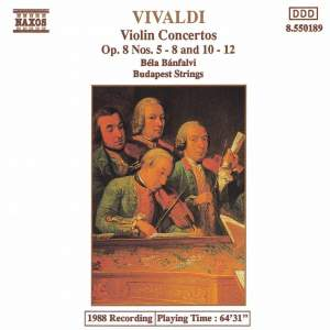 Vivaldi: Violin Concertos Op. 8 Nos. 5-8 and 10-12 Product Image