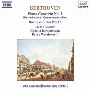 Beethoven: Piano Concerto No. 1 & Rondo for piano & orchestra Product Image