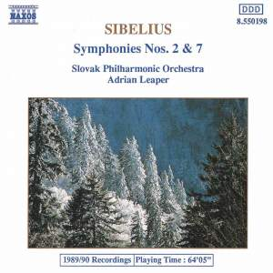 Sibelius: Symphonies Nos. 2 and 7