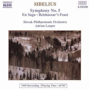 Sibelius: Symphony No. 5 in E flat major, Op. 82 Product Image