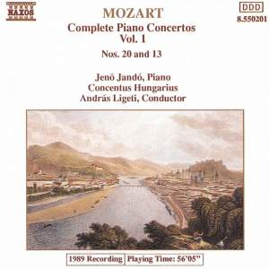 Mozart - Complete Piano Works Volume 1 Product Image