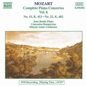 Mozart - Complete Piano Concertos Vol. 6 Product Image