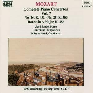 Mozart - Complete Piano Concertos Vol. 7 Product Image