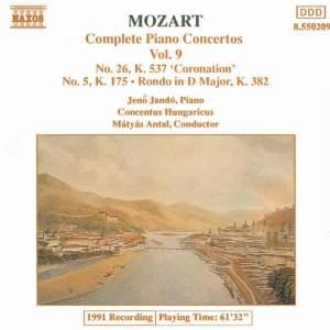 Mozart - Complete Piano Concertos Vol. 9 Product Image