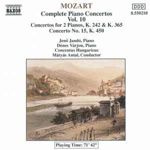 Mozart - Complete Piano Concertos Vol. 10 Product Image