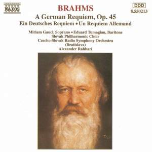 Brahms: Ein Deutsches Requiem, Op. 45 Product Image