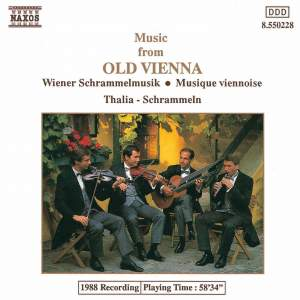 Music from Old Vienna Product Image