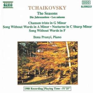 Tchaikovsky: The Seasons, Chanson triste, Nocturne