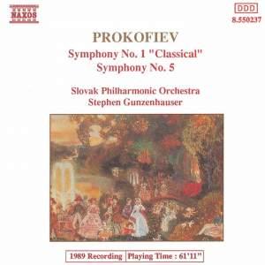 Prokofiev: Symphony No. 1, 'Classical' & Symphony No. 5 Product Image