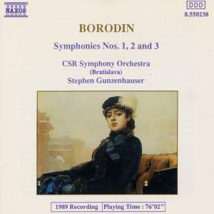 Borodin: Symphonies Nos. 1-3 (complete) Product Image