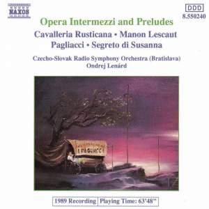 Opera Intermezzi and Preludes