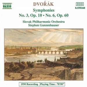 Dvorak: Symphonies Nos. 3 & 6 Product Image