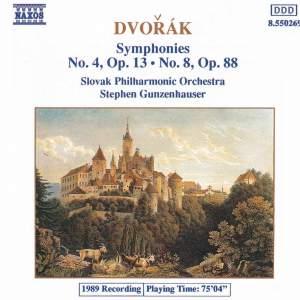 Dvorak: Symphonies Nos. 4 & 8 Product Image
