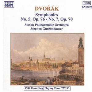 Dvorak: Symphonies Nos. 5 & 7 Product Image