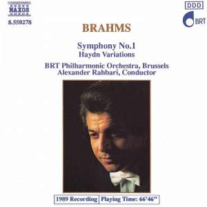 Brahms: Symphony No. 1 & St Anthony Variations Product Image