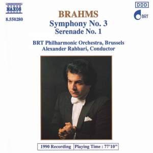 Brahms: Symphony No. 3 & Serenade No. 1