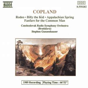 Copland: Rodeo, Billy the Kid. Appalachian Spring, Fanfare Product Image