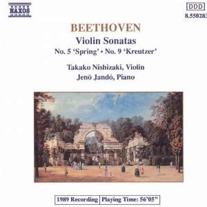 Beethoven: Violin Sonatas Nos. 5 & 9 Product Image
