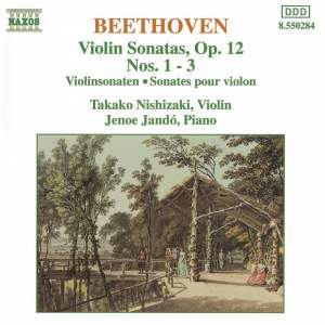 Beethoven: Violin Sonata No. 1 in D major, Op. 12 No. 1, etc. Product Image