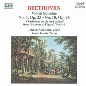 Beethoven: Works for Violin and Piano Product Image