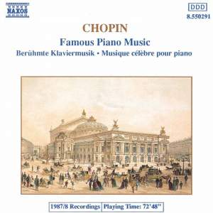 Chopin: Famous Piano Music Product Image