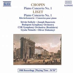 Chopin & Liszt: Piano Concertos Nos. 1 Product Image