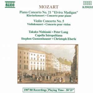 Mozart: Piano Concerto No. 21 & Violin Concerto No. 5