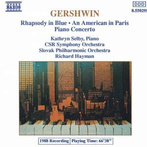 Gershwin: Piano Concerto in F major, etc. Product Image