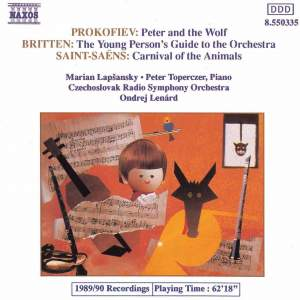 Saint-Saëns: Le carnaval des animaux, Prokofiev: Peter & the Wolf Product Image