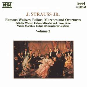 J. Strauss II: Waltzes, Polkas, Marches And Overtures, Vol. 2 Product Image