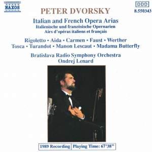 Peter Dvorsky Operatic Recital