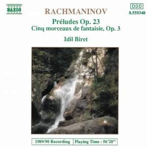 Rachmaninov: Complete Preludes & Morceaux de Fantaisie Product Image