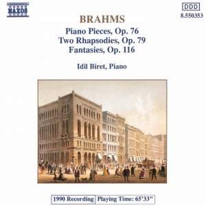 Brahms: 8 Klavierstücke, 2 Rhapsodies & 7 Fantasies Product Image