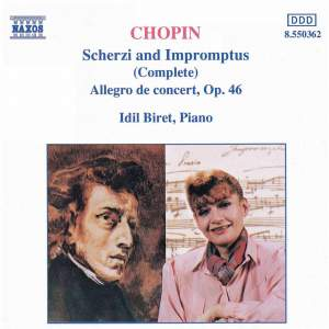 Chopin: Scherzi and Impromptus (Complete) Product Image