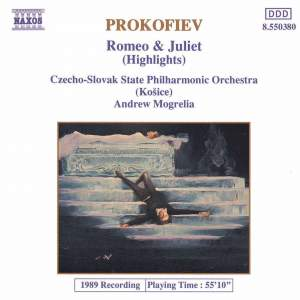 Prokofiev: Romeo and Juliet, Op. 64 - excerpts Product Image