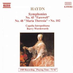 Haydn - Symphonies Volume 4 Product Image