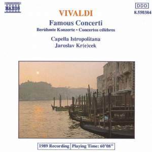 Vivaldi: Famous Concertos Product Image