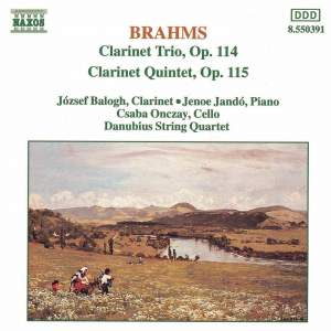 Brahms: Clarinet Trio & Clarinet Quintet Product Image