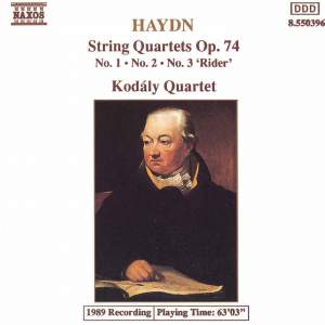 Haydn: String Quartet, Op. 74 No. 1 in C major, etc. Product Image