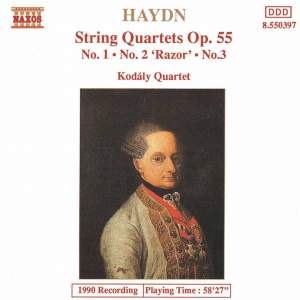 Haydn: String Quartet, Op. 55 No. 1 in A major, etc.