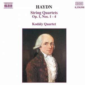 Haydn: String Quartets Op. 1 Nos. 1 - 4 Product Image
