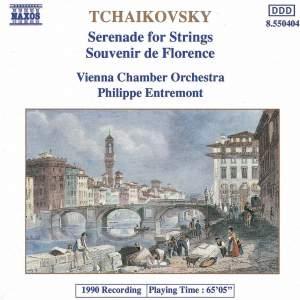 Tchaikovsky: Serenade for Strings & Souvenir de Florence Product Image