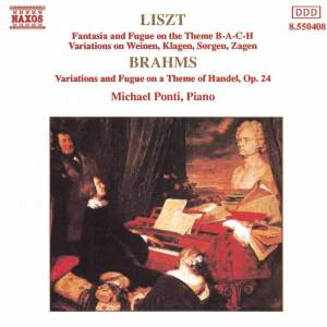 Liszt & Brahms: Piano Variations