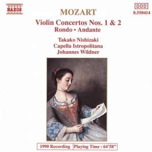 Mozart: Violin Concertos Nos. 1 & 2, Rondo & Andante Product Image