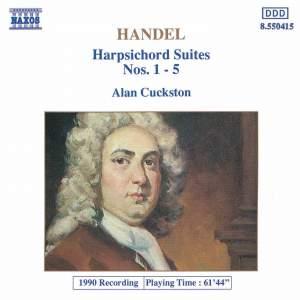 Handel: Harpsichord Suites Nos. 1-5 HV 426-430 Product Image