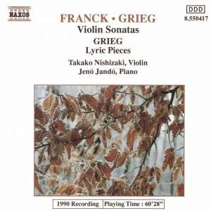 Franck & Grieg: Violin Sonatas & Grieg: Lyric Pieces
