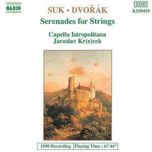 Suk/Dvorak: Serenades For Strings