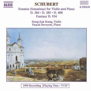 Schubert: Works for violin and piano Product Image